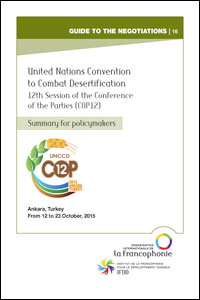 Summary for policymakers - COP12-Desertification - English